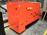 gerador 80kVA Diesel Soundproof com motor 1006tg1a de Lovol para projetos de edifício