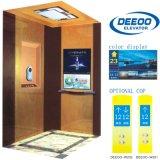Plein ascenseur guidé confortable de villa de maison de miroir de sûreté