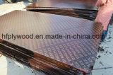 Contre-plaqué de faisceau de bois dur de contre-plaqué de construction de Brown de contre-plaqué de colle de WBP