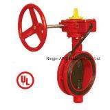 UL / FM межфланцевый клапан-бабочка (Model No .: WD-371X)
