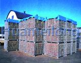 Сверхмощный складной контейнер сетки Wir с колесами