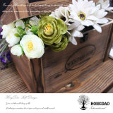 Hongdao kundenspezifische antike hölzerne Hilfsmittel, die Ablagekasten Wholesale_L packen
