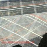 ポリエステル格子正式の衣服のホーム織物のためのファブリックによって染められるジャカードファブリック化学ファブリック衣服ファブリック