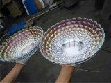 真空メッキ機械を金属で処理するガラスコップ