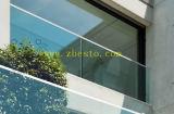 Verres de sûreté stratifiés Tempered pour la pêche à la traîne de Handdrail de balcon \ balustrade