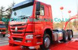 Primaire krachtbron van het Paard van de Vrachtwagen van de tractor de Hoofd Hoofd, 371HP, Rhd/LHD, Euro II, de Vrachtwagen van de Tractor van de Wielen van Sinotruck HOWO A7 10 6X4
