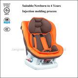 뜨개질을 한 직물 100%년 폴리에스테 & 갯솜을%s 가진 HDPE 프레임 아기 안전 자동차 시트