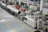 Пластичный делать трубы трубы Machine-LDPE/PE/PVC (штрангпресса)/штранге-прессовани подвергнуть механической обработке (с перетаскивания/резец/машина замотки)