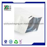 Sacos de plástico feitos sob encomenda da parte inferior lisa da fábrica