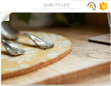 Esteira de tabela quente impressa do serviço do alimento do desenho de papel da forma redonda