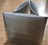 Bolsos expresos Aluminio-Plateados del algodón de la perla