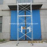 De veilige SGS Goedgekeurde Steiger van het Frame van de Ladder voor de Bouw