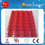 Telhado de telha vitrificado qualidade da exportação que faz a máquina