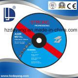 브라운 알루미늄 산화물 Fiber-Reinforced 수지 가는 디스크 27A