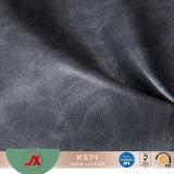 Кожа PVC маслообразная Sythetic с маслообразной поверхностью, популярной пользой для сумок повелительниц, бумажников, портмона