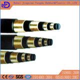 Boyau en caoutchouc hydraulique à haute pression En856 4sh et En856 4sp d'EPDM