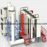 速いカラー変更のマルチサイクロンの&Filterの回復粉のコーティングブース