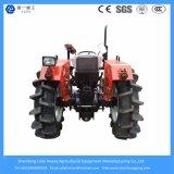 China Factory 40/48 / 55HP Farm Mini / Garden / Agricultural / Tractor compacto com palheta rotativa / arado