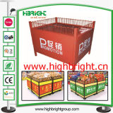 Metal Foldable Promotuion Table Desk para Supermarket