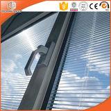 양극 처리 열 틈 알루미늄 여닫이 창 Windows 강화 유리, 단단하게 한 두 배 3배 윤이 나는 여닫이 창 알루미늄 Windows
