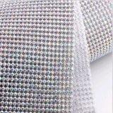 [3مّهوت] نقطة معيّنة ألومنيوم [رهينستون] شبكة شبكة بلّوريّة حقيرة لأنّ لباس أحذية ثوب