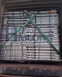 Paleta plegable de acero de la jaula del almacén con la paleta de madera