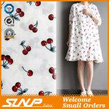 Tessuto tinto del vestito dal filo di cotone con stampa