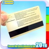 Carte d'adhésion en plastique de bande magnétique de verrou de trappe d'hôtel d'impression