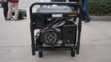 5kw/6kVA Ce/Euro IIの電力220/380V電気ガソリン発電機