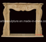 조각품 대리석 벽난로 주위 (SY-MF033)