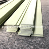 Tira plana de la fibra de vidrio de FRP/de GRP