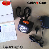 Faro LED di carbone di Kl4.5lm del minatore senza fili della miniera