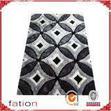 Couverture en soie d'étage de couvre-tapis de polyester de Microfiber de qualité
