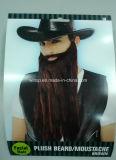 견면 벨벳 당 브라운 Beard&Moustaches (BA005)