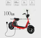 60V/20ahリチウム電池が付いている1000W電気旅行のオートバイ