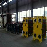Warmtewisselaar van de Plaat van de Pakking van de Toepassing van de Industrie van het Zoet water/van het Zoute Water de Koel