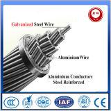 Conductor de acero galvanizado del conductor ACSR del filamento del Al de la base central