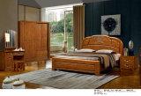 나무로 되는 호텔 침대, 최고 침실 가구 세트, 중국 침대 (828)