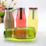Großhandels100ml Glasflaschen zu den Getränk250ml mit Plastikmilchflasche