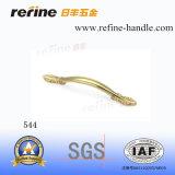 Poignée en alliage de zinc d'or de meubles (Z-544)