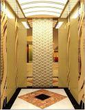 Ascenseur de passager de bonne qualité avec l'acier inoxydable de délié