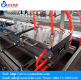 PVC Plastic Windows와 Door Profiles Extruder Machine