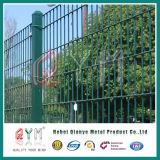二重ループ金網の塀または金属二重ワイヤー庭の塀