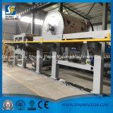 tipo rodillo enorme de 1760m m del papel acanalado del arte de la capacidad 3-4t/D Kraft que hace la cadena de producción maquinaria