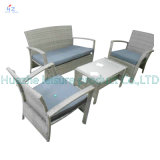 Hot Sale Sofa Outdoor Rattan Furniture with Chair Table Wicker Furniture Rattan Furniture for Outdoor Furniture with Wicker Furniture with Flat Rattan
