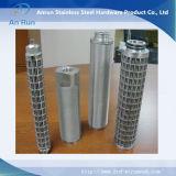 Cilindro filtro de acero inoxidable para el agua Filtros