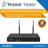 Yeastar 8 GSM GSM VoIP van de Kaart SMS van Havens SIM Gateway (NeoGate TG800)
