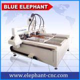 Ele-0809マルチスピンドル4軸線CNCのルーター、マルチスピンドルCNCのルーターの回転式第4軸線、販売のための自動3D木製の切り分けるCNCのルーター