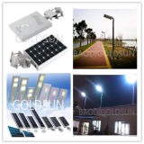 Luz de rua solar Integrated 12W do diodo emissor de luz, venda de fabricante