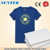Carta da trasporto termico della maglietta A4 per il tessuto 100% di cotone